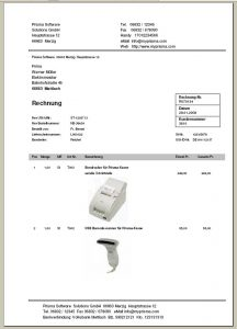 Büro Profi Rechnung mit Produktbild