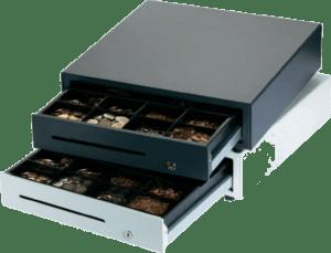 Kassenlade mit automatischer Öffnungsfunktion