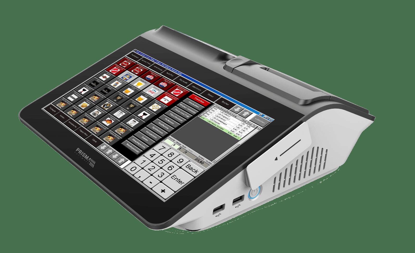 PRISMA Touch Compact - die Kassensoftware für Ihren Gastronomiebetrieb