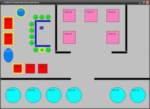 grafische Tischanwahl für Prisma Gastrokasse