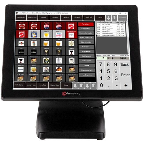 Gastrokasse 2020 Touchscreen